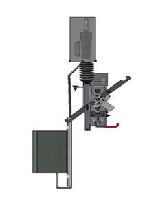 Remote Mid-Pole Actuator
